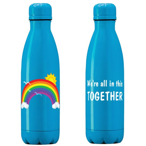 No Tax - We're all in this TOGETHER - Stainless Steel Insulated Wraparound Printed Bottle - 500ml (Pickup Only)