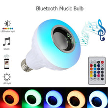 23% OFF - LIMITED TIME OFFER - E27 / B22 Wireless Bluetooth LED Bulb Speaker with Remote Control
