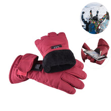 28% OFF - LIMITED TIME OFFER - Women Waterproof and Touch Screen Heated Gloves - 3 Heating Levels