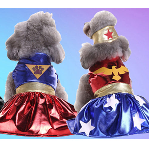 Cat and Dog Super Paw Dress - 2 Models