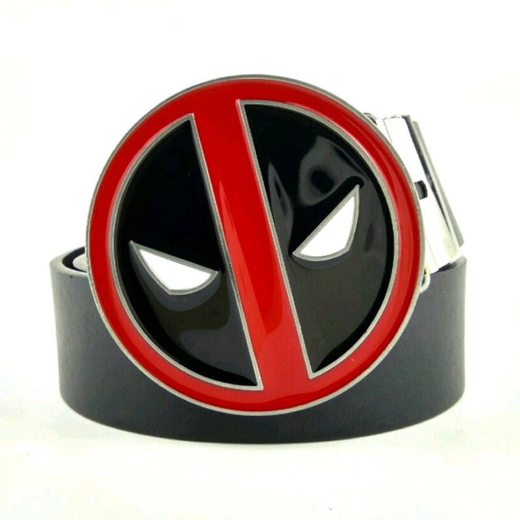 Deadpool Belt and Buckle