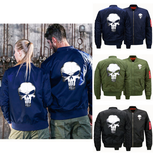 Punisher Bomber Jacket - 3 Colours
