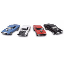 Fast & Furious 7 Metal Dodge Charger Car - Pull Back Miniature Cars 1:32 Scale  - 4 Colours