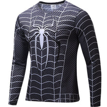 Superhero Spider-Man Long Sleeve Compression Shirt -3 Models