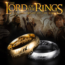 Lord of the Rings Stainless Steel Rign - Spinner Silver, Regular 3 Colours