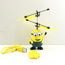 Despicable Me Minion Helicopter Drone - Remote Control and Hand Sensor