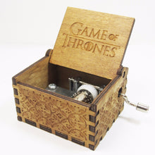 40% OFF - LIMITED TIME OFFER - Game of Thrones Engraved Wooden Music Box