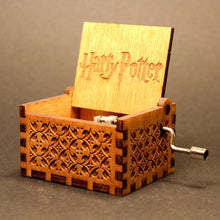 40% OFF - LIMITED TIME OFFER - Harry Potter Engraved Wooden Music Box