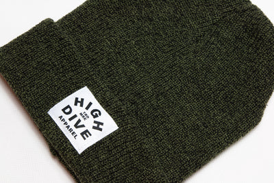 HDA Antique Moss Green Beanie