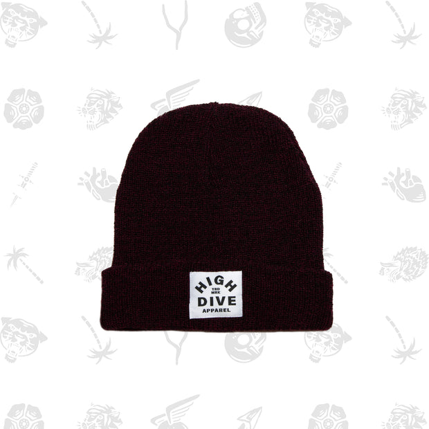 HDA Antique Burgundy Beanie