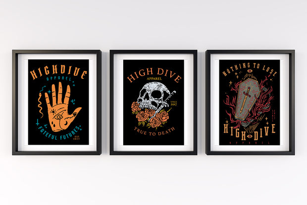 Estudiomiopia Set of 3 Art Prints