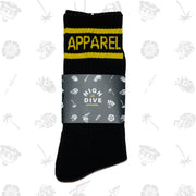 Black HDA Socks
