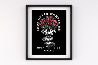 Love Never Wanted me A4 Print