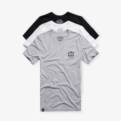 Staple Short Sleeve Triple Pack