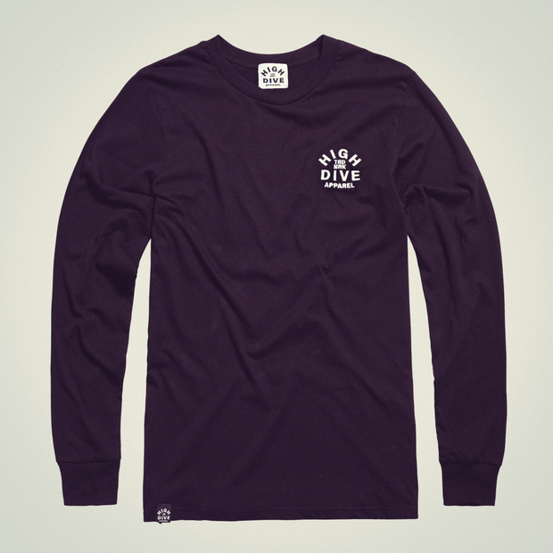 Embroidered LTD Edition Long Sleeve Black