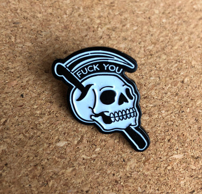 F*** You Pin - High Dive Apparel