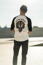 Stay Wild Raglan Back - High Dive Apparel