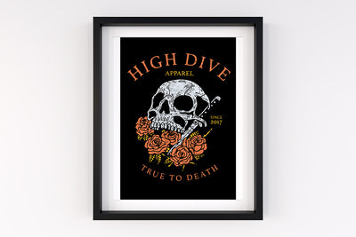 True to Death A4 Print