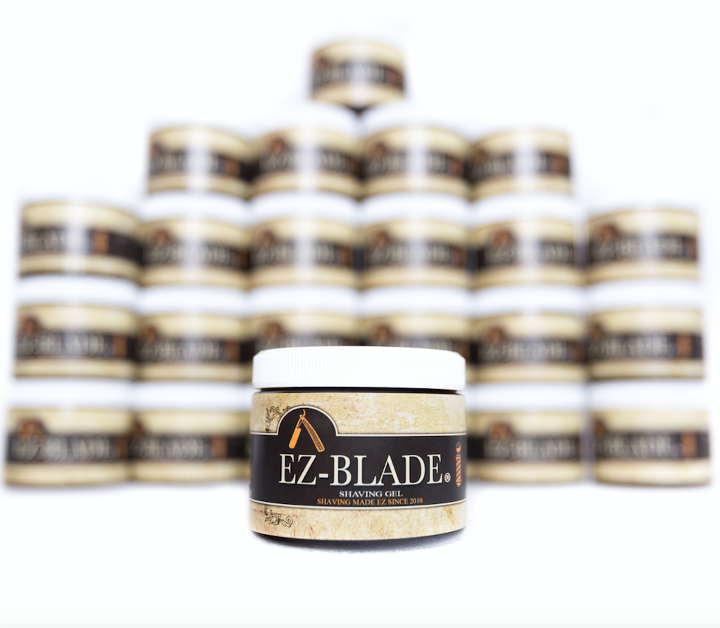 One dozen EZ – BLADE Shaving Gel 6 oz