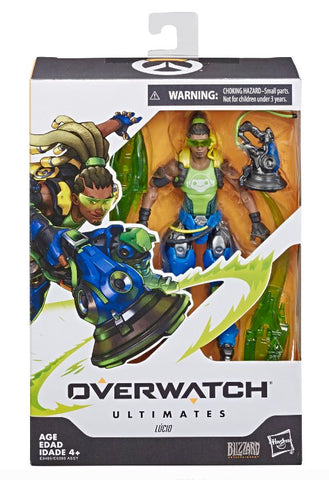 Overwatch Ultimates Series Lucio 6-Inch-Scale Collectible Figure
