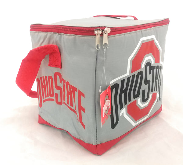 Ohio State Buckeyes OSU 12 Can Insulated Cooler Tote Bag