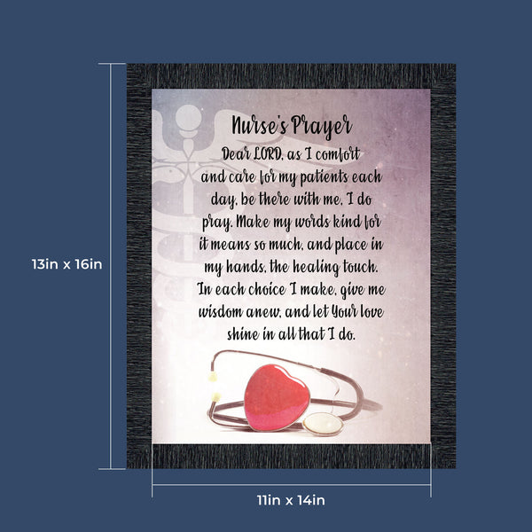 Nurse Gifts for Women - Nurse Graduation Gift, Nursing School Gifts, Nurses Appreciation Week, Nurse Practitioner Gifts, RN Gifts, LPN Gifts for Women, CNA Gifts or Nursing Picture Frame, 2105