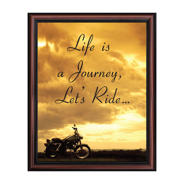 Harley Davidson Gifts for Men and Women, Classic Harley Picture Frame, Harley Davidson Wedding Gifts, Biker Motorcycle Accessories for Men, Unique Motorcycle Wall Decor, 2116