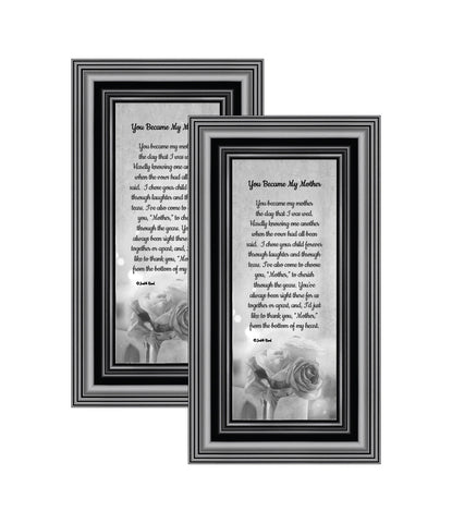Picture Frame Set, 2 Piece Customizable Gallery Multi pack, 2-4x10, for Tabletop or Wall Display