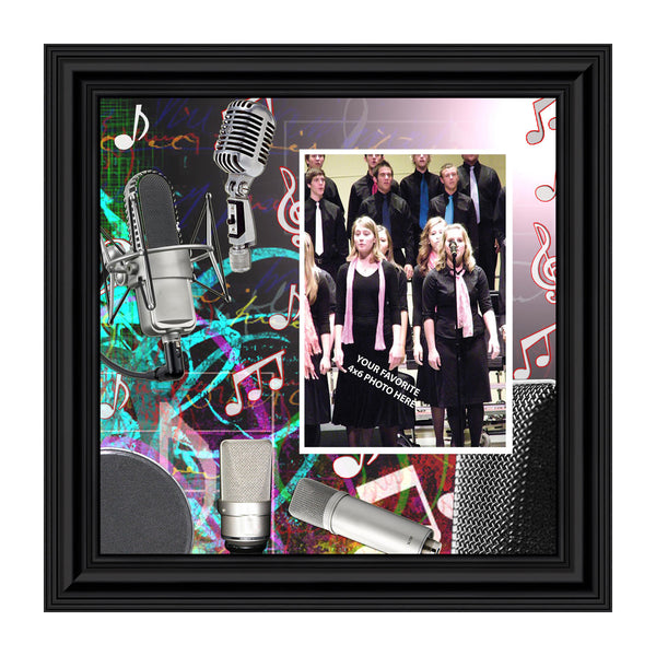 Choir, Lead Singer Gifts Personalized Picture Frame, 10X10 3515