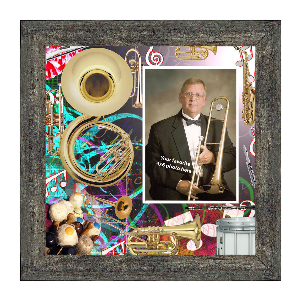 Band Director, Personalized Band Director Gifts Personalized Picture Frame, 10X10 3526