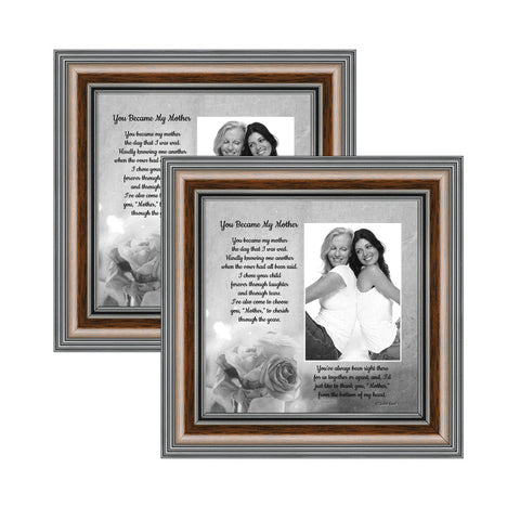 2 - 8x8 Picture Frame, Square Instagram Photo, for Tabletop or Wall Display