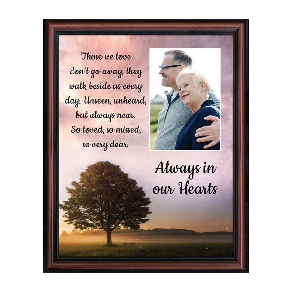 Sympathy Gift Picture Frames, Memorial Gifts for your Condolence Gift Baskets and Sympathy Cards, Bereavement Gifts, In Memory of Loved One, Those We Love Framed Home Decor, 5039