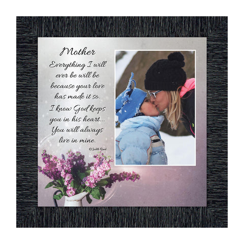 My Mother, Personalized Picture Frame, Gift from Daughter for Mother, 10X10 6321