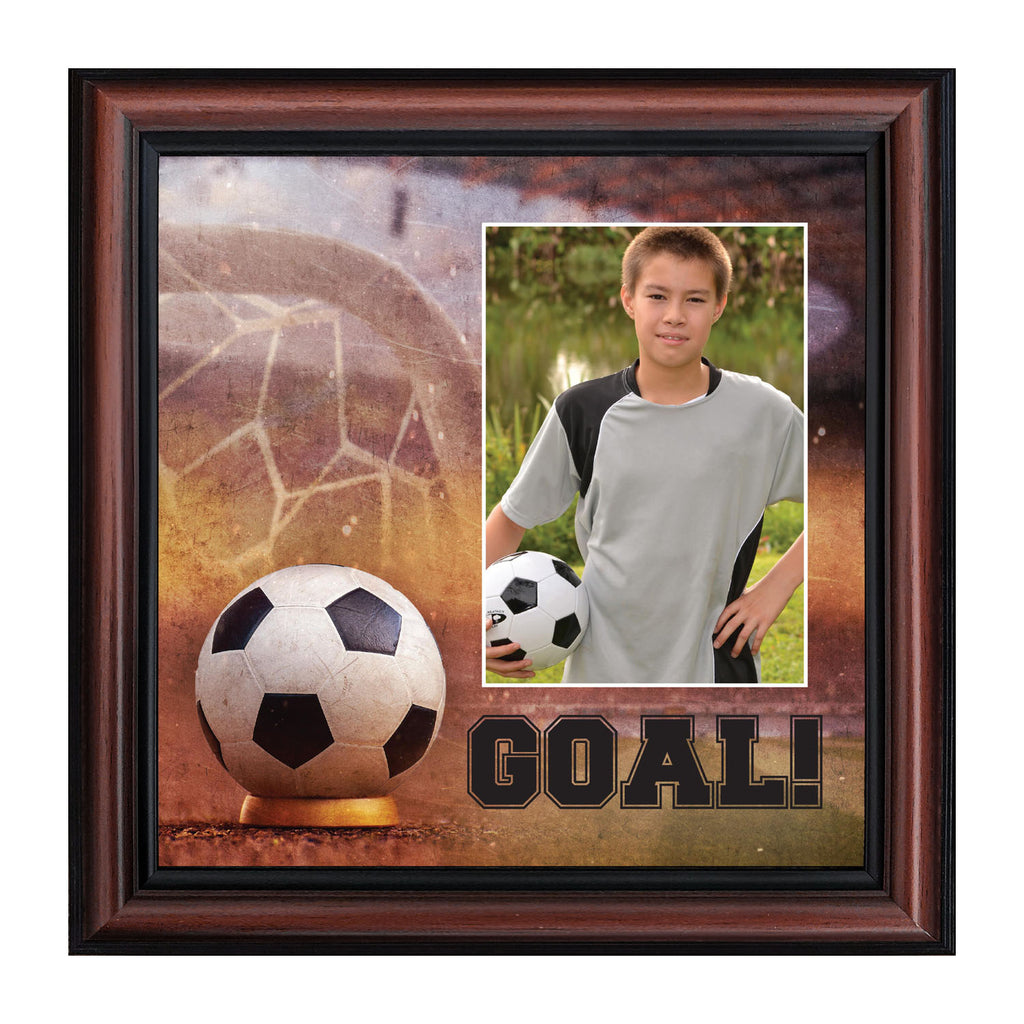 Soccer Picture Frame, Personalized Soccer Gifts for Soccer Players, 10x10 6367