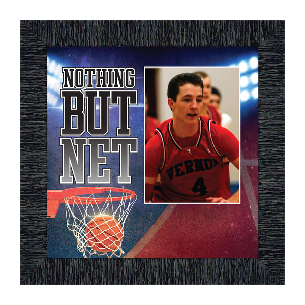 Basketball Personalized Picture frame, Gifts for Coaches Basketball, 10x10 6368