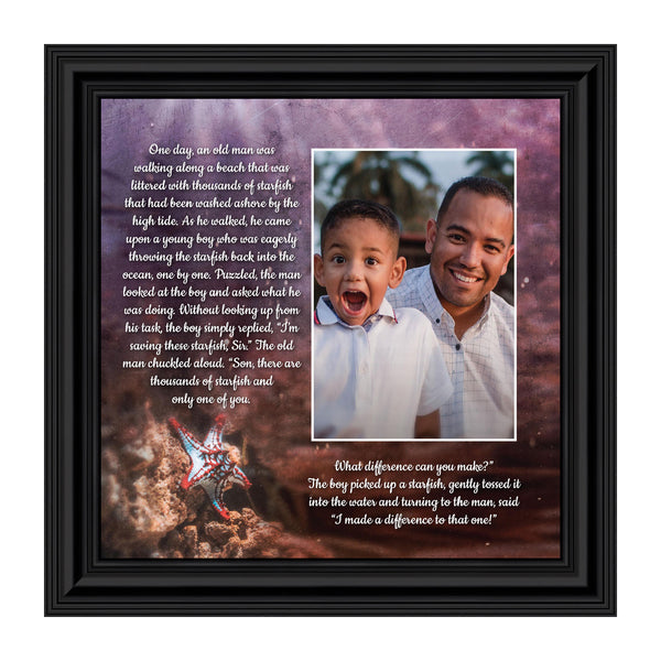 The Starfish Story, You Make a Difference, Appreciation Gift, 10x10 6399