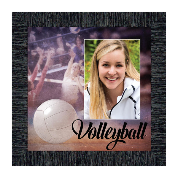 Volleyball Picture Frame, Gift for Volleyball Player, Sports Themed Wall Art, 10x10 6413