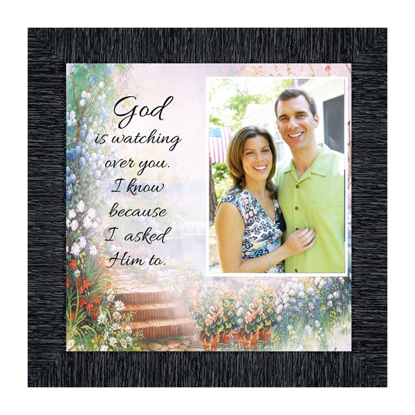 God is Watching Over You, Prayer for a Friend, Care and Concern Personalized Framed Poem,10x10 6588