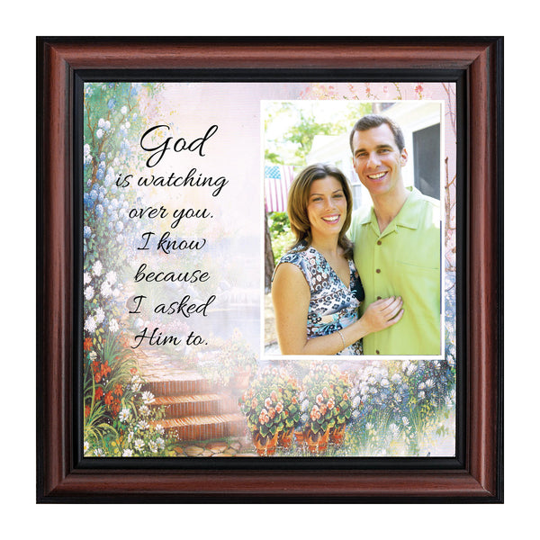 God is Watching Over, Prayer for a loved ones protection, 10x10 6588