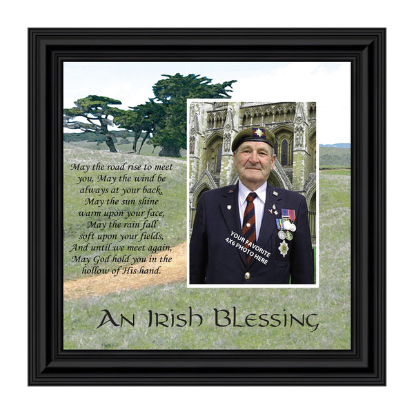 An Irish Blessing, Irish Blessing Picture Frame, May The Road Rise to Meet You, 10x10 6786