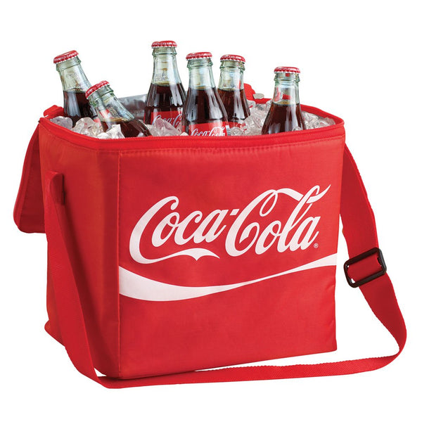 Coca Cola Coke Insulated Soft Cooler 12 Can Tote Bag Lunch Sack Box