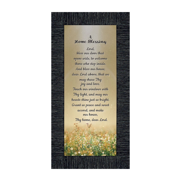 A Home Blessing, God Bless This Home Sign, Home Blessing Décor, 6x12 7314