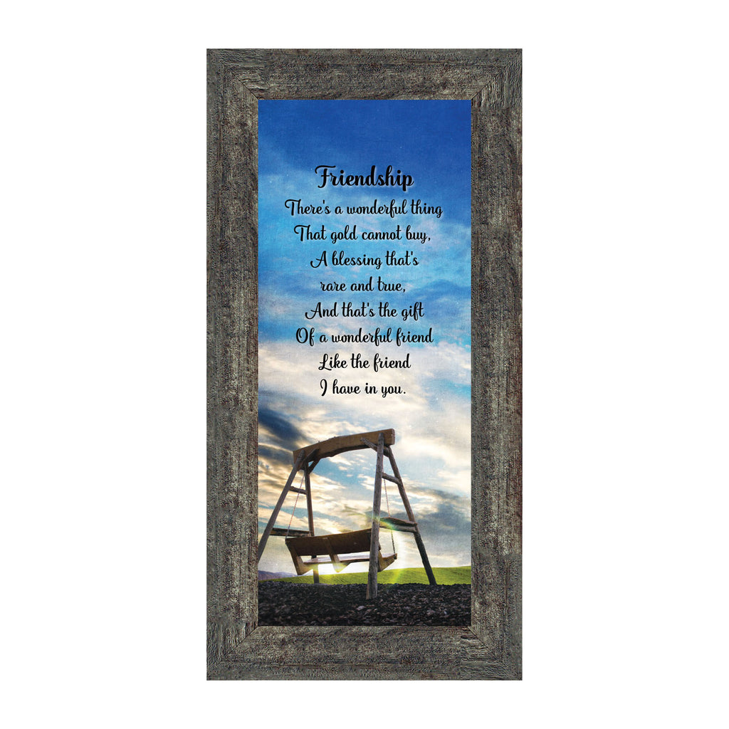 Friendship, Poem about friendship, Picture Frame 6x12 7333
