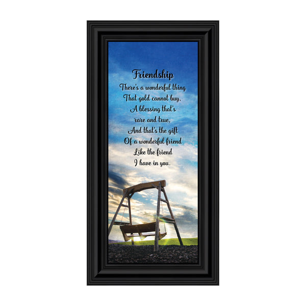 Friendship, Thank Your Best Friend Frame Poem, 6x12 7333