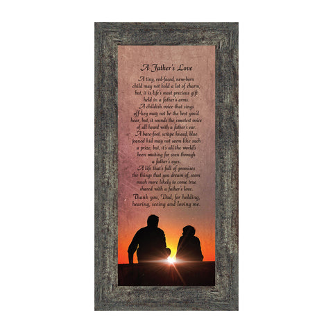 A Father's Love, Dad Gifts, Daddy Gifts For Daughter, 6x12 7339