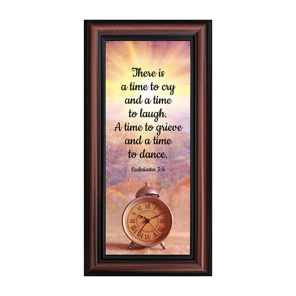 A Time for Everything, Religious Memory Gift, Decorative Scripture Art, 6x12 7391