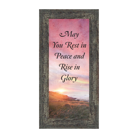 Rest in Peace, Loved Ones in Heaven, Memory Picture Frame, 6x12 7417