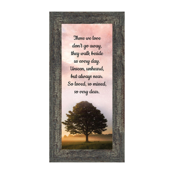 Those We Love Sympathy Gift, Memorial Gift or Bereavement Gift for the Loss of a Mom or Dad or a Loved One, Picture Frame, 6x12, 7430