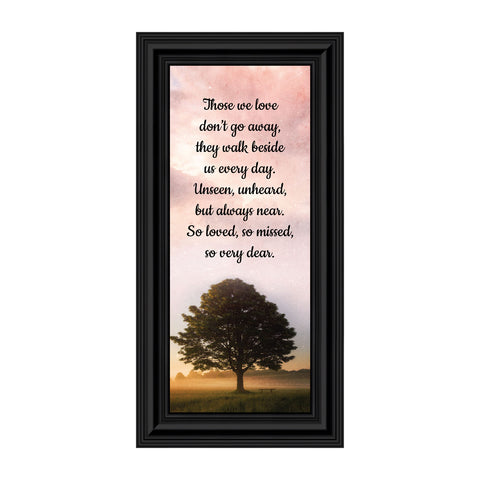 Sympathy Gift Picture Frames, Memorial Gifts for your Condolence Gift Baskets and Sympathy Cards, Bereavement Gifts, In Memory of Loved One, Those We Love Framed Home Décor, 7430