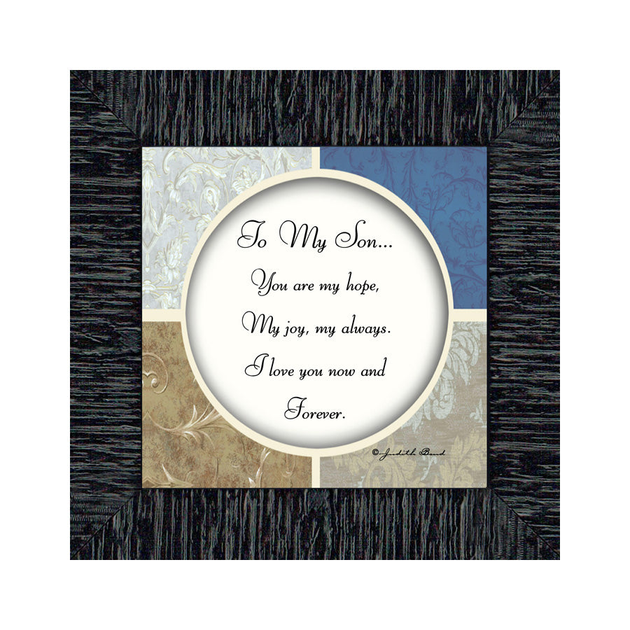 To My Son, Gifts for My Son, Sons Picture Frame, 6x6 75512